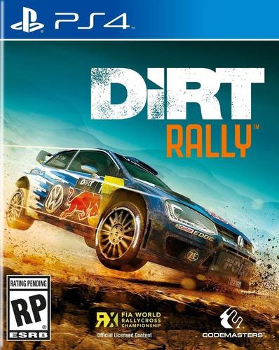 Dirt Rally Juego Ps4 Original Play 4 + Garantía + Español