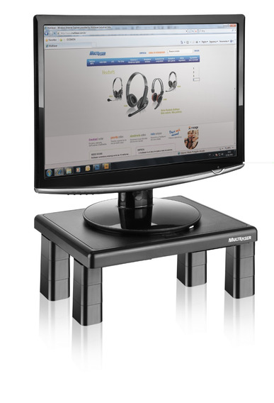 Multilaser Suporte Quadrado Para Monitor De Mesa Ac125