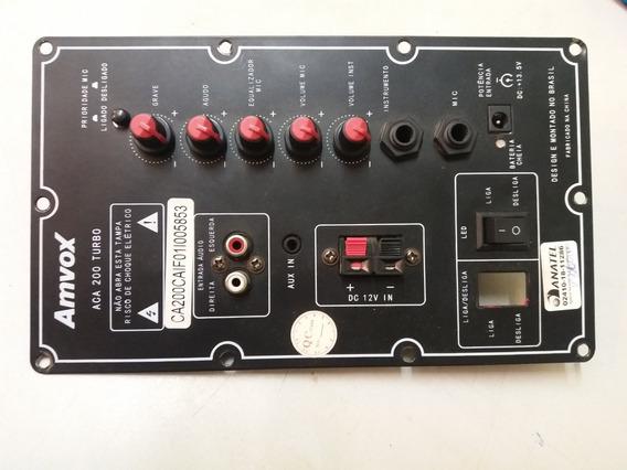 Placa Principal Caixa Amplificado Amvox Aca 200 Turbo.
