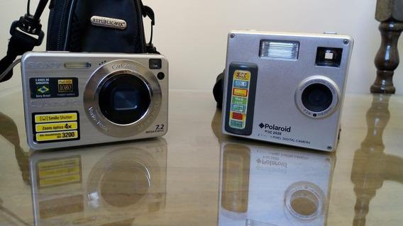 Pack Câmera Cyber-shot W110 + Polaroid Pdc 2020