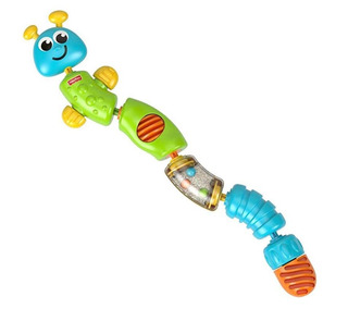 Juguete Collar De Oruga Masticable Fisher Price Brilliant Ba