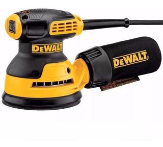 Lijadora Roto Orbital 275 Watts Lija 5 Pulg Dewalt Dwe6421