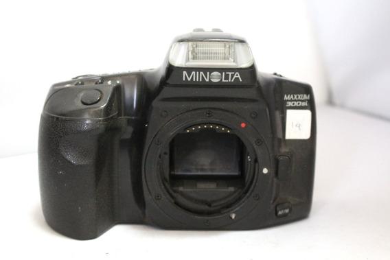 Câmera Fotografica Minolta Maxxum 300si Coleção Retirada Peç
