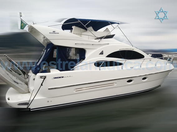 Lancha Intermarine 380 Full Barco Iate N Phantom Cimitarra