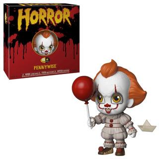 Funko 5 Horror Payaso It Pennywise Original