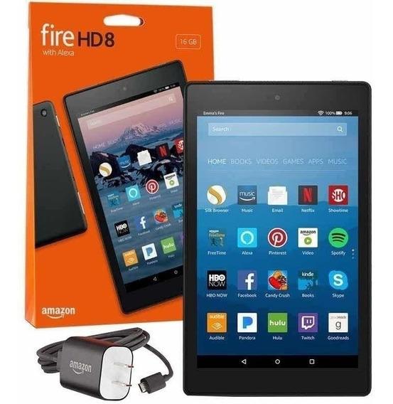 Tablet Amazon Fire Hd8 16gb 7ª Geração Alexa - Novo