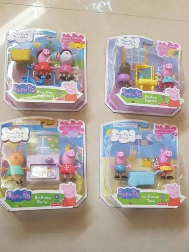 Set De Peppa Pig Y Sus Amigos De Fisher Price. 20 Trumps C/u