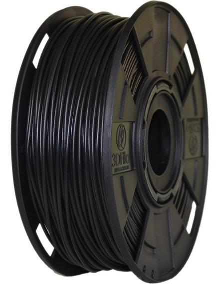 Filamento Pla Preto Basic 1,75 Mm 500g 3d 3dfila