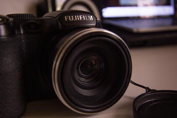 Câmera Semi Profissional Fuji / Finepix S /cartão De Memória