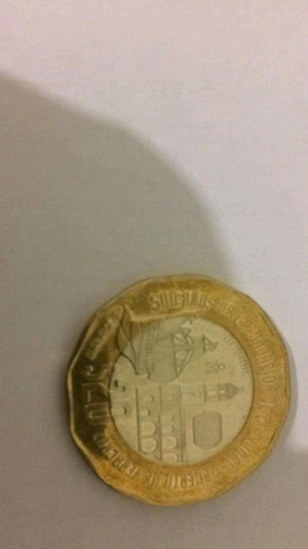 Moneda 500 Años De La Fundación De La Cuidad Y Puerto De Ver