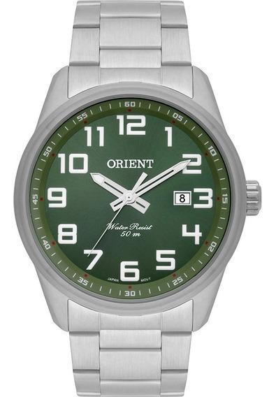 Relogio Mbss1271 E2sx Orient Masculino Aço Mostrador Verde