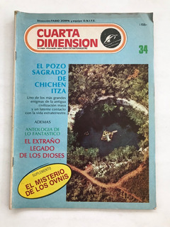 Revista Cuarta Dimension N° 34 Ovnis Fabio Zerpa