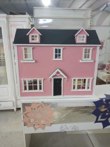 Mansión De Barbie Con Muebles