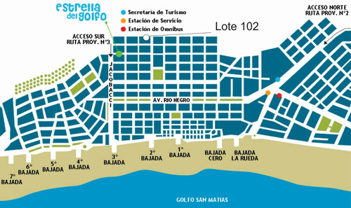 Lote 781,53 M2 En Venta Las Grutas, Zona Hospital