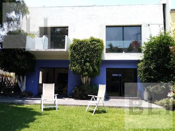 Casa Habitacional En Renta En La Colonia Chimalistac