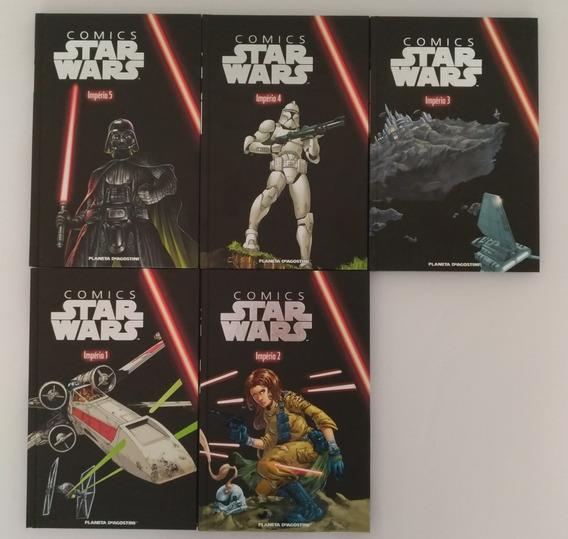 Star Wars Planeta Deagostini - Império 1-5 (completo)