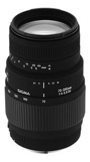 Sigma 70 300 Mm F/4 5.6 Dg Macro Zoom Teleobjetivo Lente