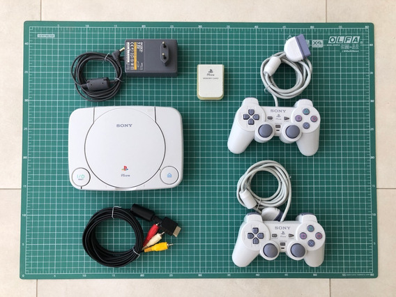 Ps1 Psone Playstation 1 Slim Impecável
