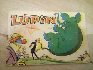 Revista Lupin Numero 9 Año Uno. Incompleta