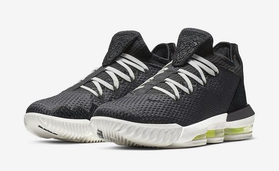 Tenis Nike Lebron 16 Xvi Black Originales Nuevos En Caja