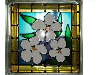 Ladrillos De Vidrio De Colores Decorados Importados