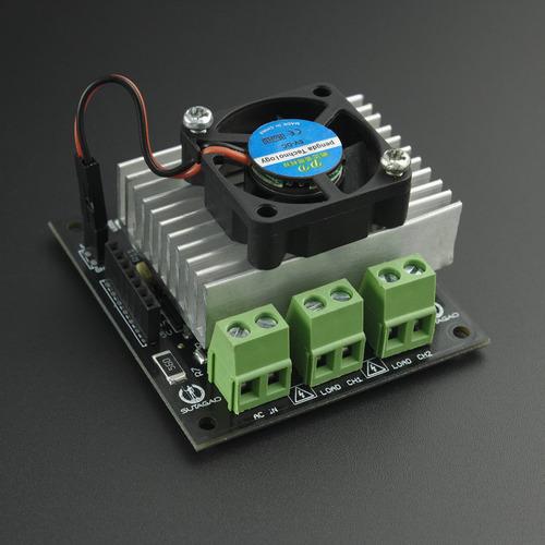 Dimmer Digital 2 Ch 1kw Para Arduino Triac Bta312 - Sutagao