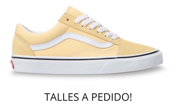 Calzado Vans Old Skool Haze Yellow True White Original