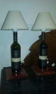 Lámpara De Mesa / Velador / Artesanal / Diseño