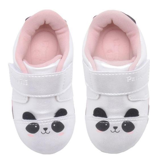 Tênis Infantil Feminino Led Luz Baby Fun Pampili 471.010