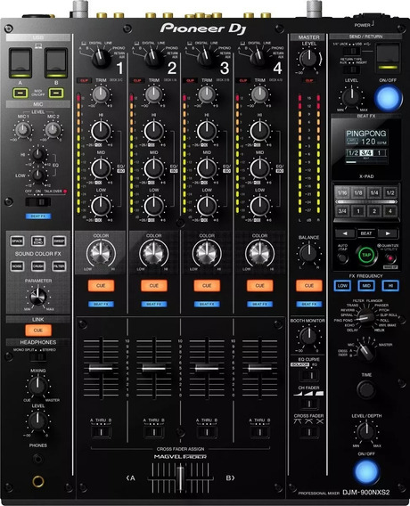 Mixer Pioneer Djm 900 Nexus 2 Djm-900nxs2 Pronta Entrega Nf