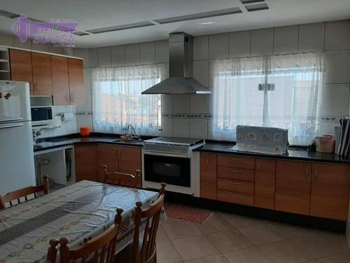 Sobrado Com 3 Dormitórios À Venda, 265 M² Por R$ 1.053.000,00 - Jardim Paraíso - Santo André/sp - So0491