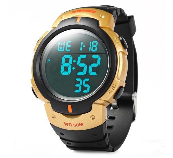 Relógio Masculino Sport Militar Skmei Digital Prova D