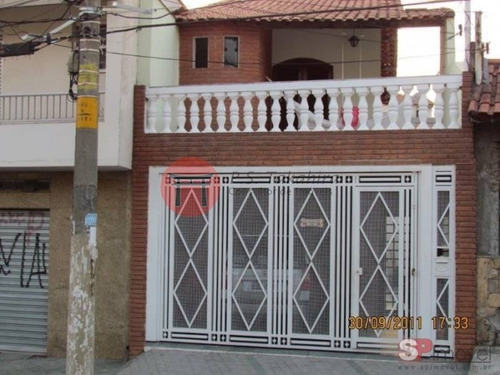 Lindo Sobrado Na Vila Formosa, 3 Dorm, 1 Suíte, 2 Vagas - 4124