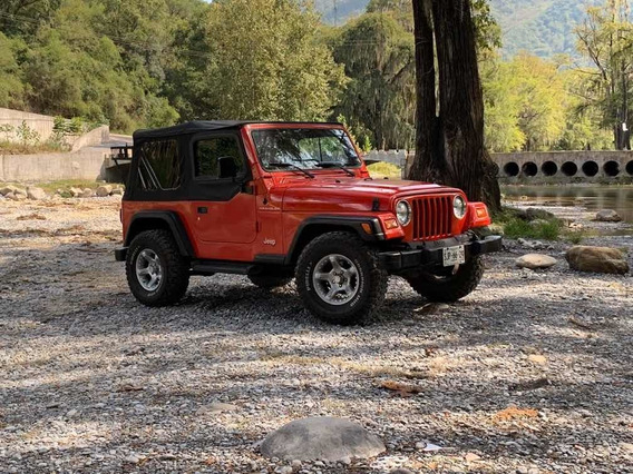 Jeep Wrangler 2.4 Se Techo Lona Mt 1999