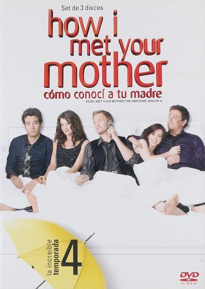 How I Met Your Mother Como Conoci Tu Madre Temporada 4 Dvd