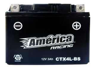 Bateria America Ytx4l-bs Bws 100 Ktm 520exc Vento Zip R3