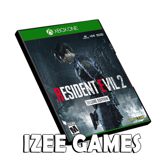 Resident Evil 2 Deluxe Remake Xbox One Mídia Digital