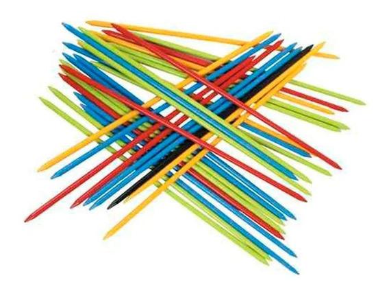 Brinquedo Pedagógico Jogo Pega Varetas 32 Unidades