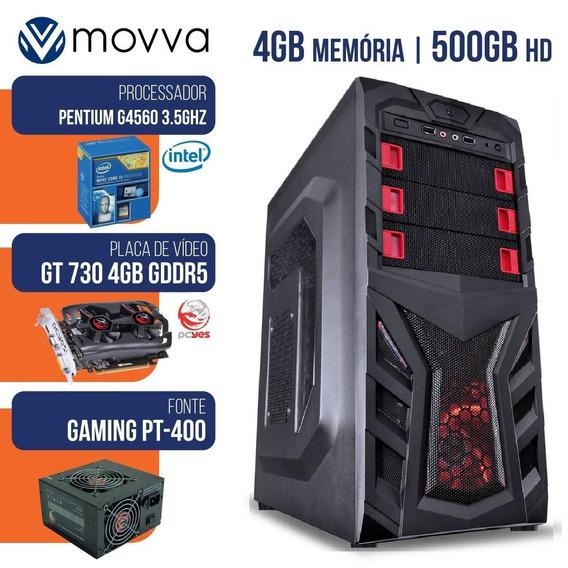 Computador Gamer Mvxp Intel Pentium G4560 3.5ghz 7ª Ger M