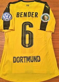 Camisa Borussia Dortmund Copa Alemanha 2017 De Jogo