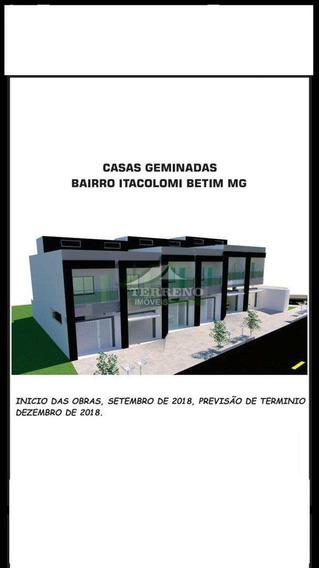 Casa Com 2 Dorms, Itacolomi, Betim - R$ 178 Mil, Cod: 194 - V194