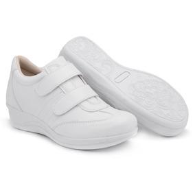 4bbecc63a Sapato Ortopedico Branco Feminino - Sapatos no Mercado Livre Brasil