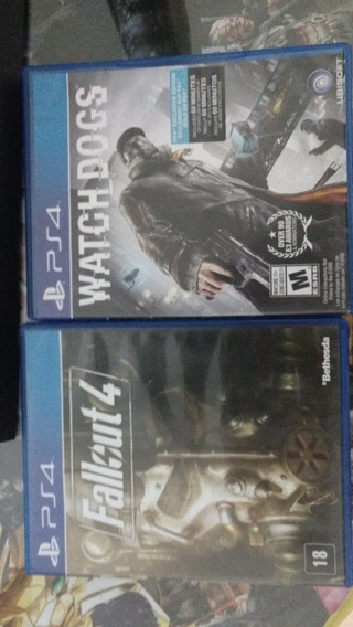 Watch Dogs + Fallout 4 Ps4