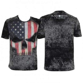 Camiseta Tshirt Branch Warren - Black Skull