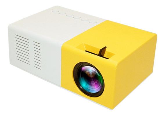 J9 Portátil Led Projetor 1600lm Mini Projetor Doméstico