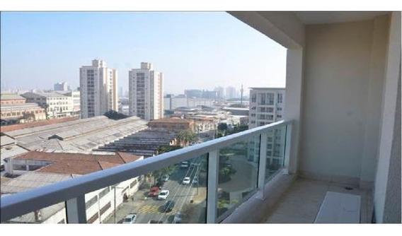 Apartamento Para Venda Em São Paulo, Mooca, 1 Dormitório, 1 Banheiro, 1 Vaga - 1992