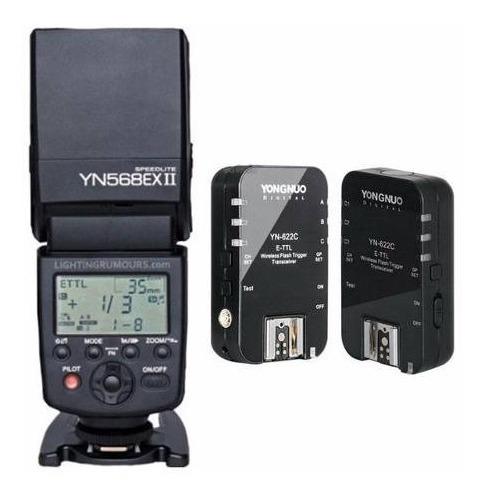 Flash Yongnuo Yn-568exii Yn 568ex + Par De Radios 622n 622c
