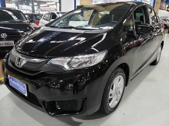 Honda Fit Lx 1.4 Flex Preto 2015 (automático + Baixa Km)