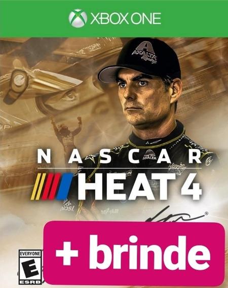 Nascar Heat 4 Gold Edition+ Brinde Xbox One Midia Digital