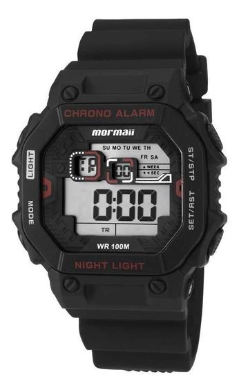 Relógio Mormaii Masculino Digital Quadrado Monf006a/8r